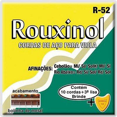 Encordoamento Viola Rouxinol Brasileira R-52
