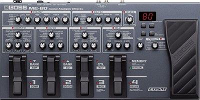 Pedaleira para Guitarra Boss ME-80 | Processador de Efeitos