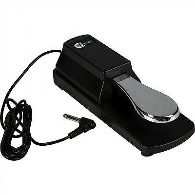 Pedal de Sustain Custom Sound CPS-10 Preto