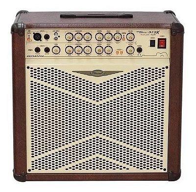 Amplificador Violão Oneal OCB-312 80W Bivolt Manual Marrom