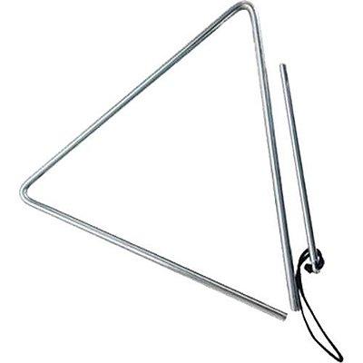 Triângulo Phoenix Cromado 30cm x 10mm