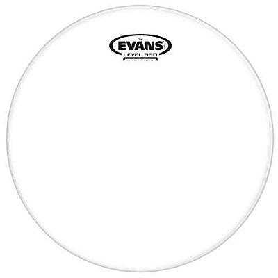 "Pele Evans Clear G2 10"" Transparente TT10G2"