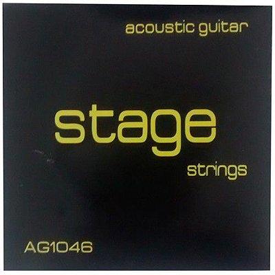 Encordoamento Violão Stage AG-1046