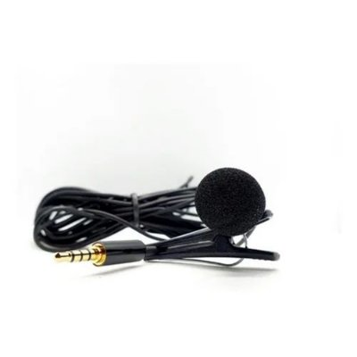 Microfone Lapela New Live SPL-60 P3 para Celular