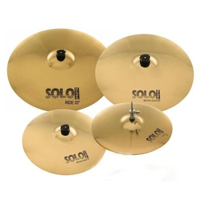 "Set Prato Orion Solo Pro 10 14"" 16"" 18"" 20"" Com Bag - SP103"