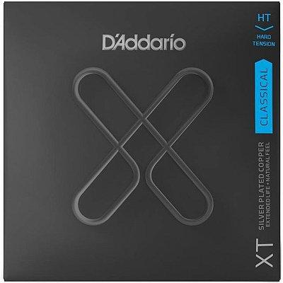 Encordoamento Violão D'Addario XTC46 Nylon Tensão Pesada