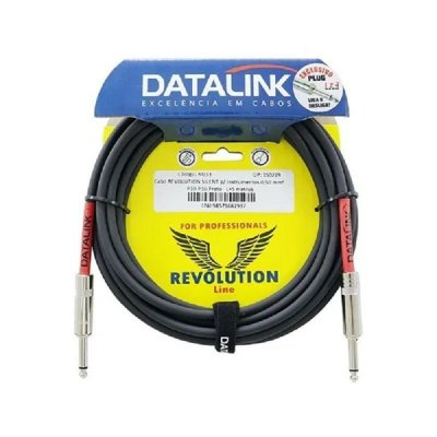 Cabo Datalink Revolution Silent Instrumento 0,50mm² P10-P10 3m