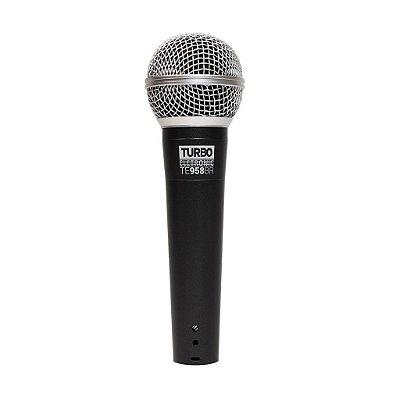 Microfone de Mão com Fio Turbo TE-958BR