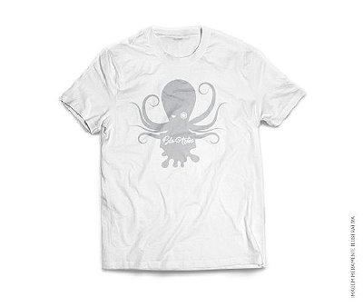 Camisetas Brancas para estampar 10 Unidades - 100% Algodão 30.1 Penteado Para Estampar