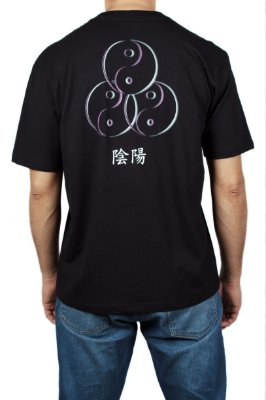 Camiseta Ying Yang - Yunitto Lab