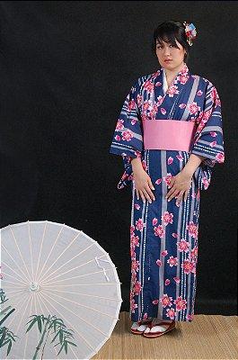Kimono Sakura Importado Japão