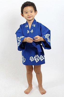 Happi Azul Jogo Japonês - Yunitto Lab