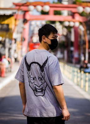 Camiseta Hannya - Yunitto Lab