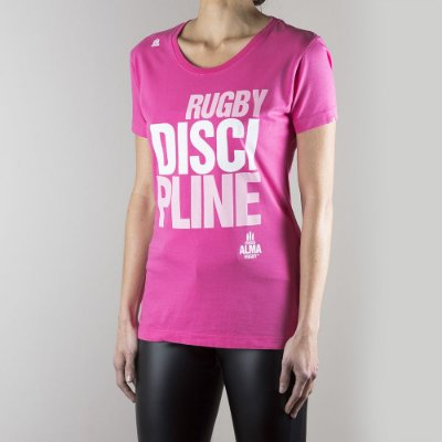 T-SHIRT Rugby DISCIPLINE Feminina