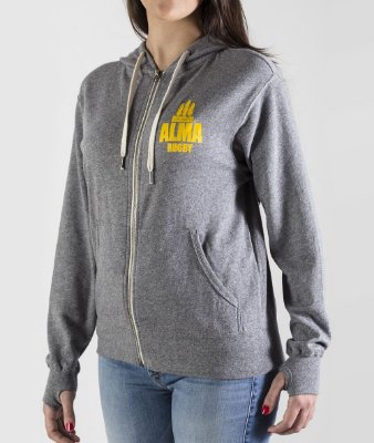 Moletom Rugby LIFE Unisex Ruck Gray by ALMA Rugby
