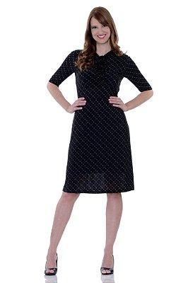 Vestido Laço Preto