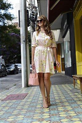 Vestido Chemise Rosa