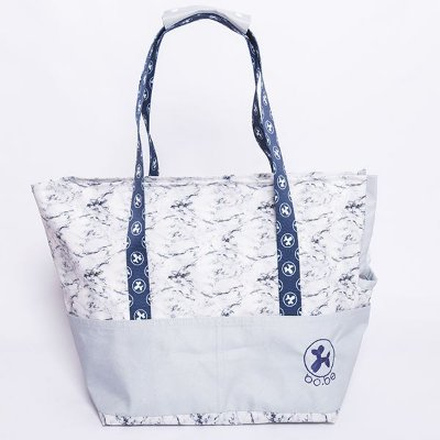 Walking Bag Marble Grey
