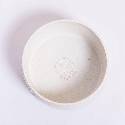 Comedouro Cerâmica Branco