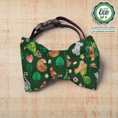Laço/Gravata Floresta Eco