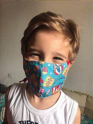 Máscara Infantil - COM FITA DE VIÉS