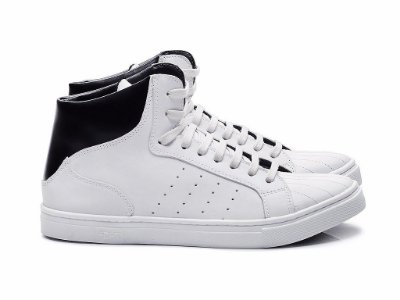 TENIS FIFTH 4701 - CONFORT BRANCO / PRETO