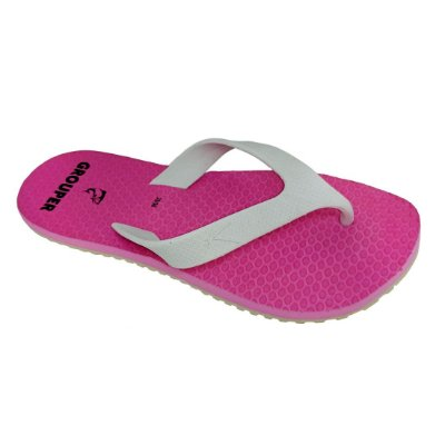 Chinelo Grouper Liso Rosa