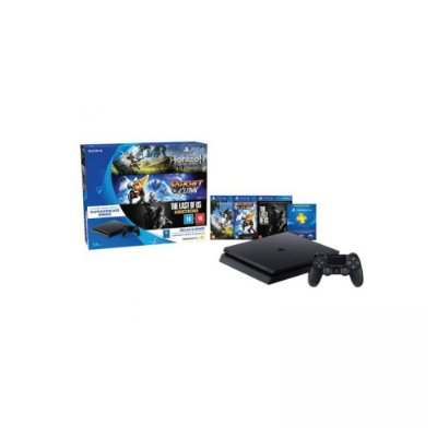 Console Playstation 4 Slim 500 GB - Pacote Playstation Hit