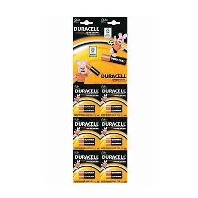 Pilhas AAA Alcalina Duracell - 12 Unidades