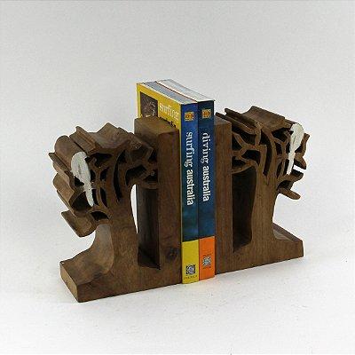 Apara Livro Arvore 20 Cm Cj(2)