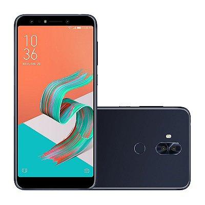 "Smartphone Asus Zenfone 5 Selfie Pro Preto 128GB, Tela 6.0"", 4GB RAM, Processador Octa Core e Android 7.0"
