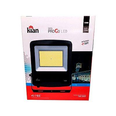 Refletor Led 150W 11250Lm Bivolt Geração 3 Kian
