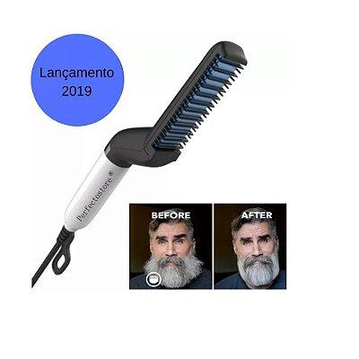 Alisador De Barba E Cabelo Barbeiro Chapinha Hair Lançamento 2019