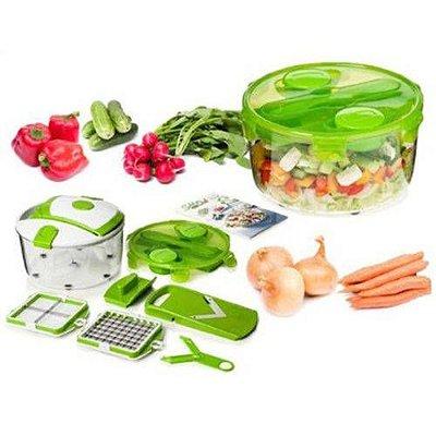 Cortador Fatiador Picador De Legumes Verduras E Frutas