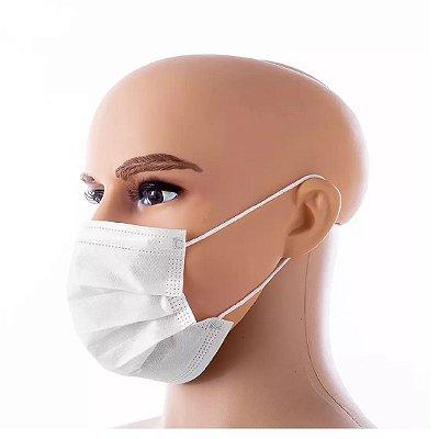 Máscara Nobre descartável TNT Tripla  (50 unidades)