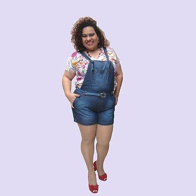 Jardineira Jeans curta HANNA