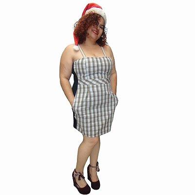 Vestido CHESS Xadrez Ampulheta