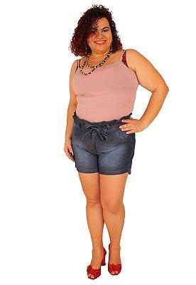 Shorts Clochard JANIE Jeans Lavagem Stone