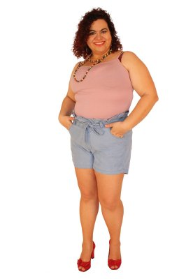 Shorts Clochard JANIE jeans Lavagem Clara