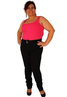 Calça Skinny JULES Jeans Black do 46 ao 58