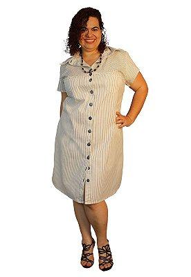 Vestido Chamise Marylu Listado