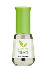 Esmalte Base Poli-Vitaminas Top Beauty Nature Trati 9ml