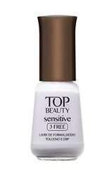 Esmalte Sensitive 3 Free Top Beauty Blue Berry 9ml