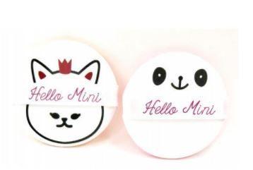 Esponja de Apoio para Maquiagem Hello Mini Com 2 Peças