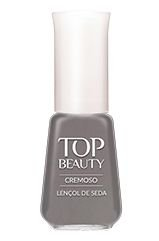 Esmalte Top Beauty Lençol de Seda Cremoso 9ml
