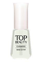 Esmalte Cuidados Top Beauty Base Cetim 9ml