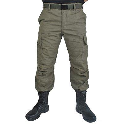 Calça Militar Verde Oliva