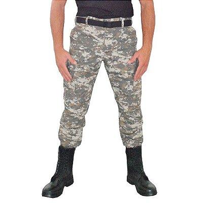 Calça Masculina Combat Camuflada Digital Areia