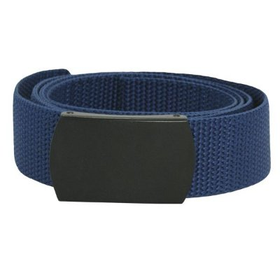 Cinto de Nylon Com Fivela - Azul