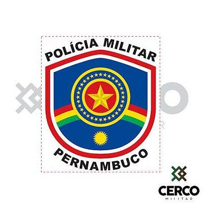 Adesivo Polícia Militar Pernambuco